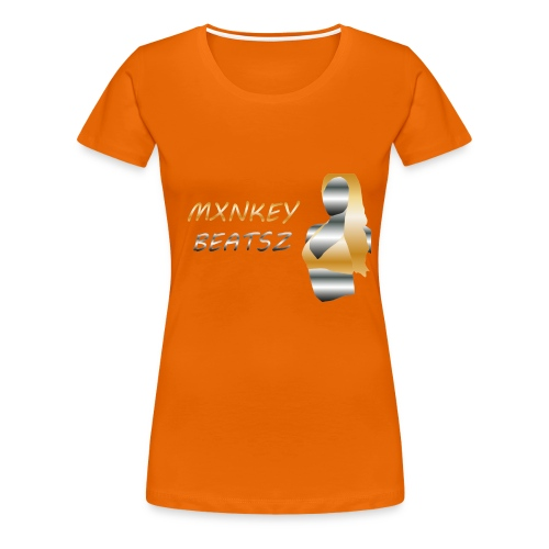 Mxnkey Beatsz Snapback - Vrouwen Premium T-shirt