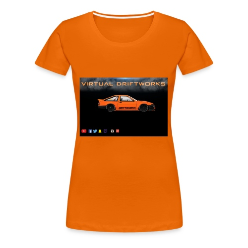 virtual driftworks preview - Women's Premium T-Shirt