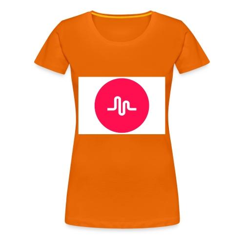 musical.ly - Premium T-skjorte for kvinner