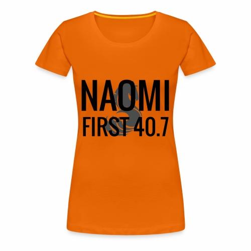 Naomi - First 40.7 - Premium-T-shirt dam