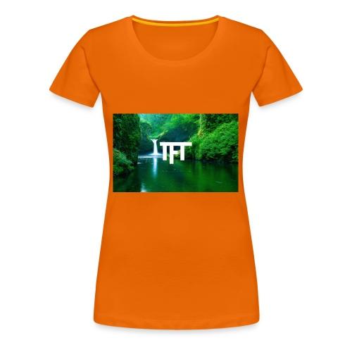 TheFlexTerms Jungle Logo - Vrouwen Premium T-shirt