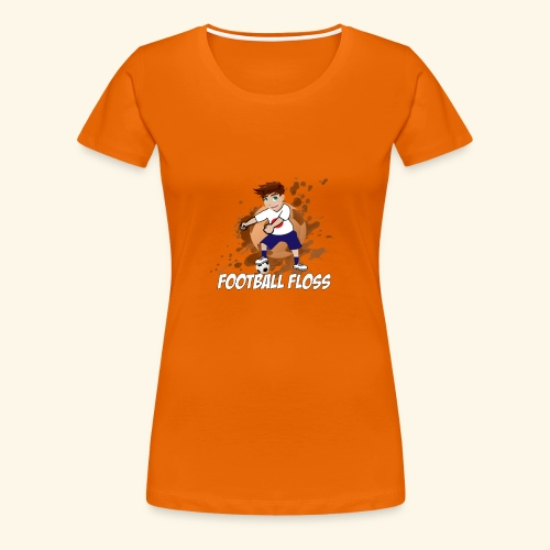 Japan World Cup Football Floss - Women's Premium T-Shirt