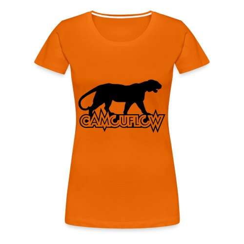 Camouflow Panther - Frauen Premium T-Shirt