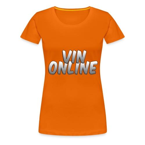 VinOnline shirt - Vrouwen Premium T-shirt