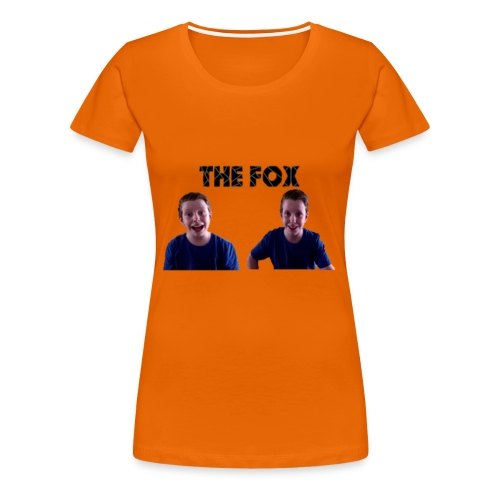 THE FOX - Deluxe Damesshirt - Vrouwen Premium T-shirt