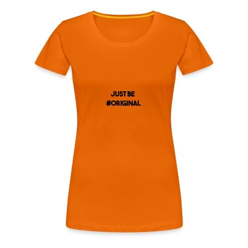 #Original shirt - Vrouwen Premium T-shirt