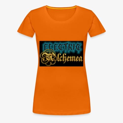 Electric Alchemea Logo IVC Zwopper - Premium-T-shirt dam