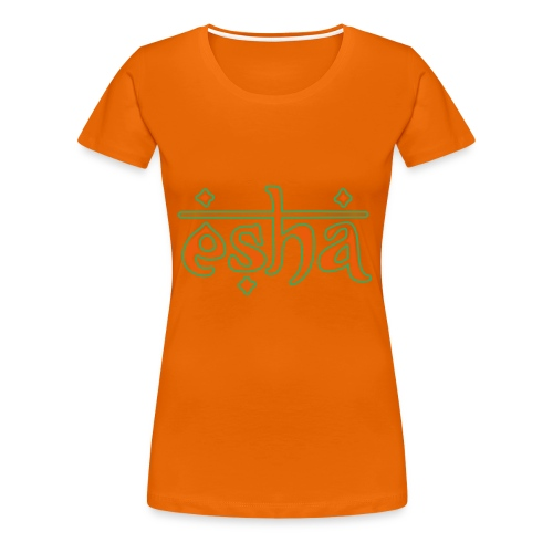 esha logo - Frauen Premium T-Shirt