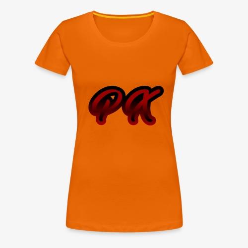 PX Logo 1 red black - Frauen Premium T-Shirt
