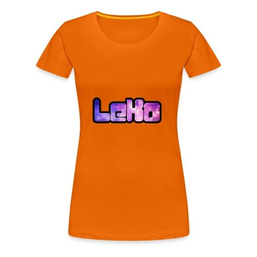 LeKo - Frauen Premium T-Shirt