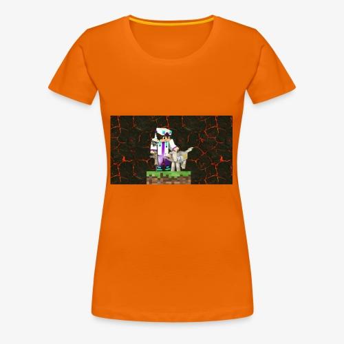 #MinecraftWeapon - Frauen Premium T-Shirt
