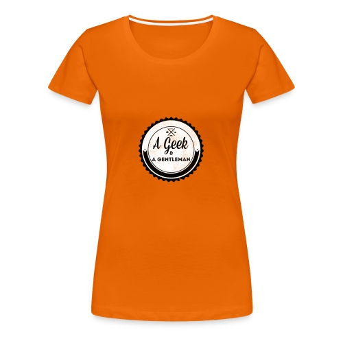 Geek gentleman - Camiseta premium mujer