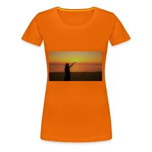 femme coucher de soleil - T-shirt Premium Femme