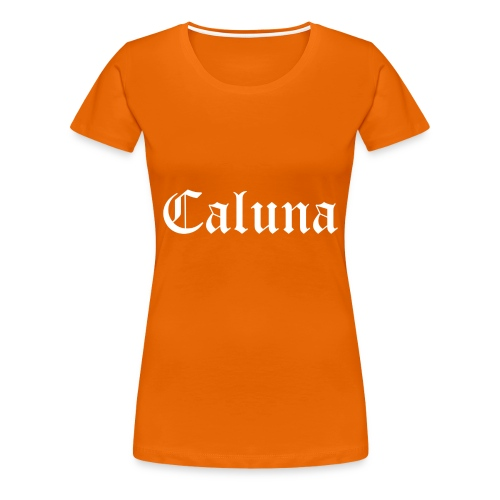 Caluna Shirt (White) - Vrouwen Premium T-shirt