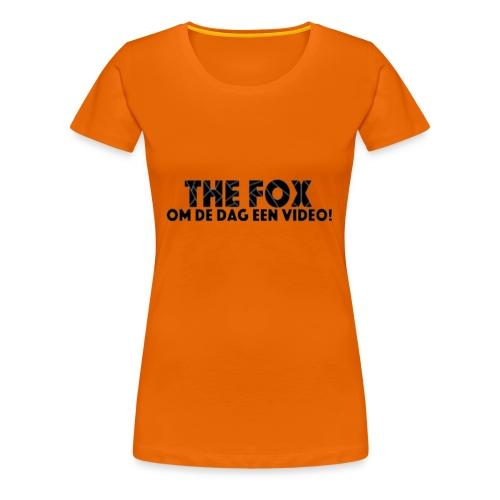 THE FOX - Damesshirt - Vrouwen Premium T-shirt
