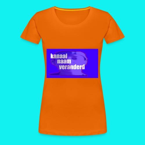 jordy shirt - Vrouwen Premium T-shirt