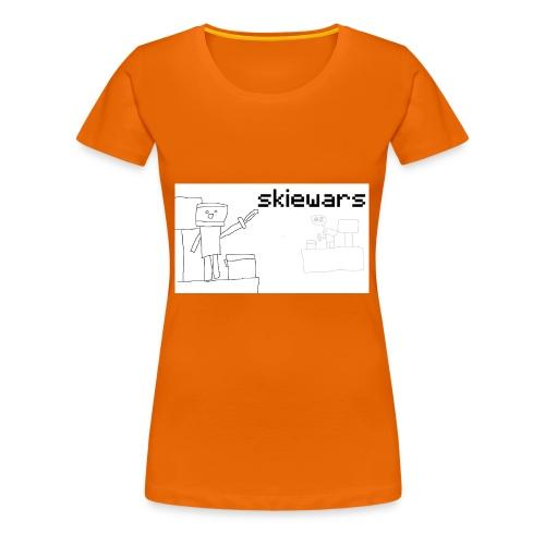 SKIEWARS - Vrouwen Premium T-shirt