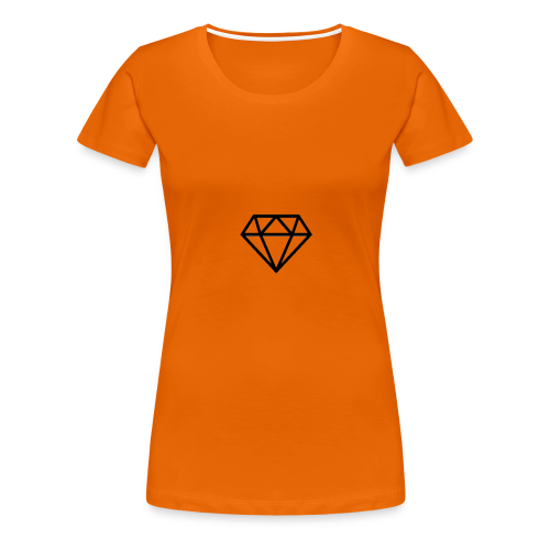 black diamond logo - Women's Premium T-Shirt