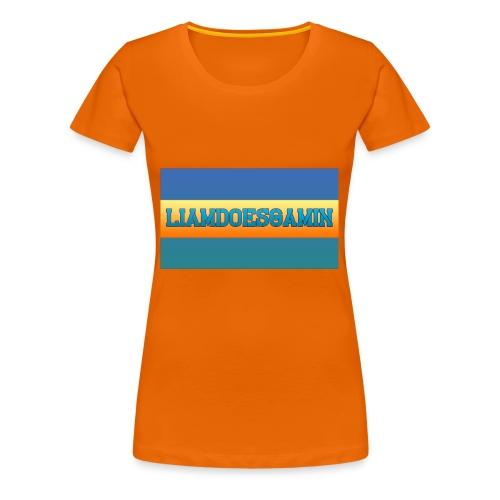LiamDoesGamin - Women's Premium T-Shirt