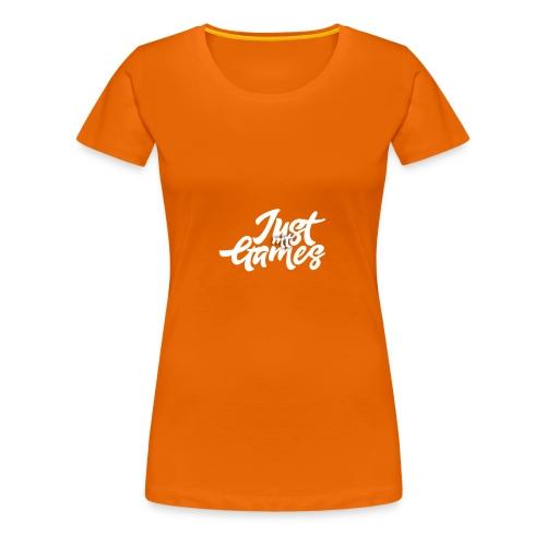 JustMTgames - Vrouwen Premium T-shirt