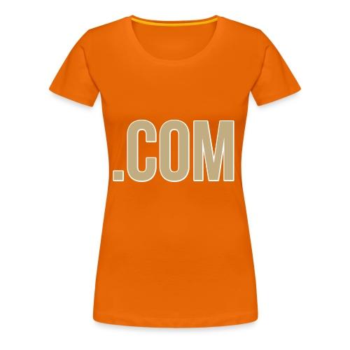 .COM - Women's Premium T-Shirt