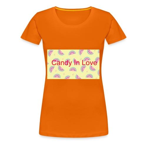 Merchandise Candy In Love - Vrouwen Premium T-shirt