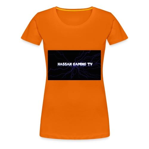 backgrounder 1 - Frauen Premium T-Shirt