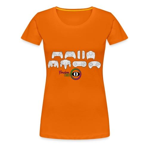 Fandom Curios Controller Design - Women's Premium T-Shirt