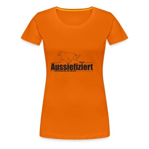 Tasse Australian Shepherd - Frauen Premium T-Shirt
