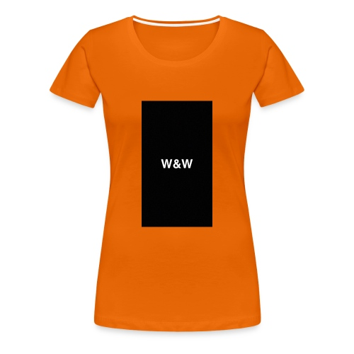W&W Logo - Women's Premium T-Shirt