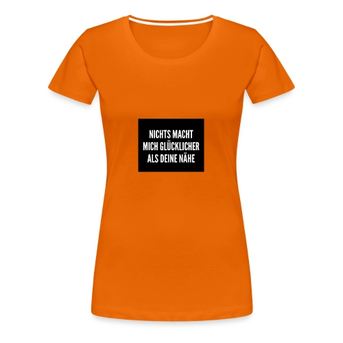 Glücklich - Frauen Premium T-Shirt