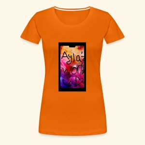 Ayla'z World Galaxy T-Shirt - Women's Premium T-Shirt