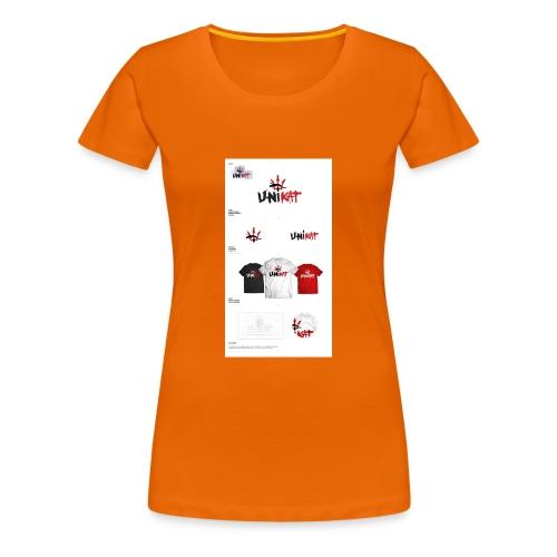 unikat_1 - Koszulka damska Premium