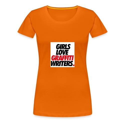Graffiti-schriftzug - Frauen Premium T-Shirt