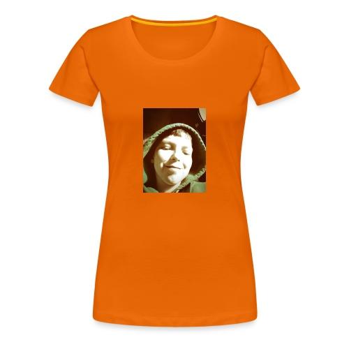 foto van mij op je shirt - Vrouwen Premium T-shirt