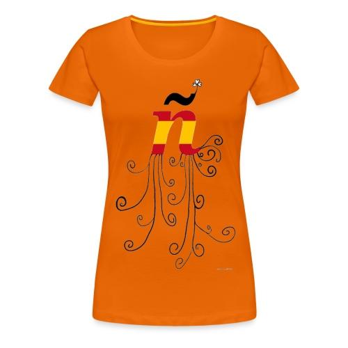 eÑe - Camiseta premium mujer
