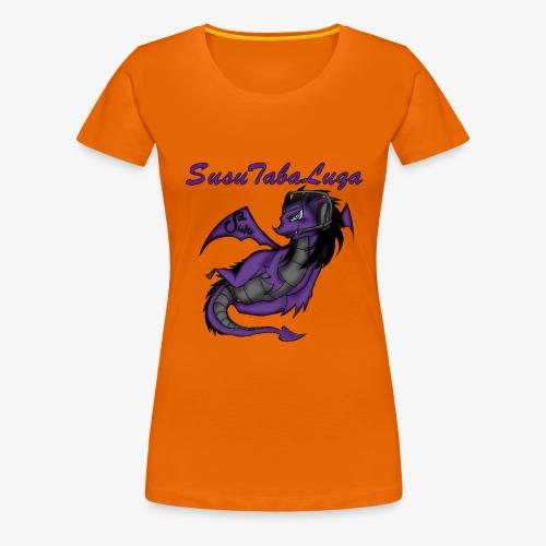 Drachengang Mit Namen - Frauen Premium T-Shirt