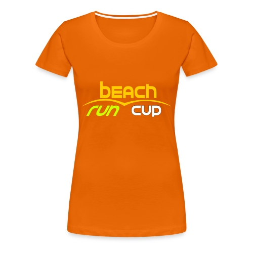 Beach_Run_Cup_d--tour-- - T-shirt Premium Femme
