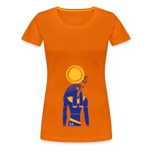 RA – Sonnengott - Frauen Premium T-Shirt