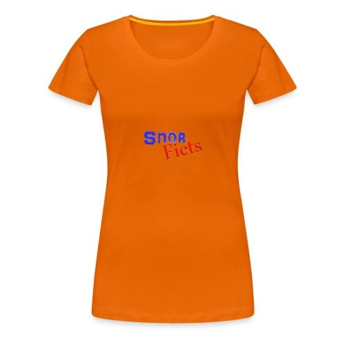 Snorfiets T-Shirt - Vrouwen Premium T-shirt