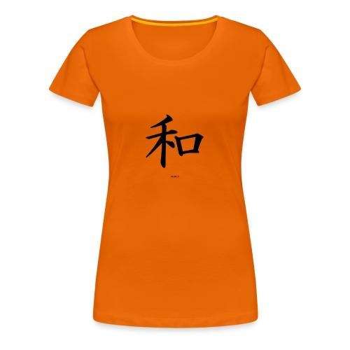 Kinesisk - Premium T-skjorte for kvinner