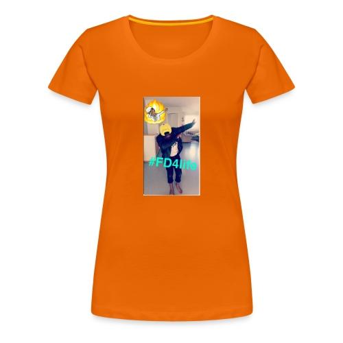 King/Ngoy - Premium T-skjorte for kvinner