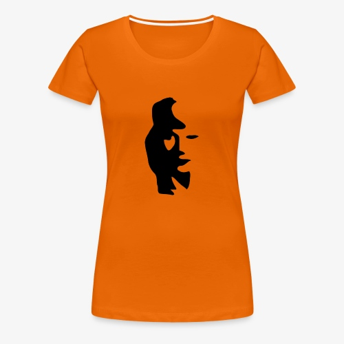 Sax/Girl - Frauen Premium T-Shirt