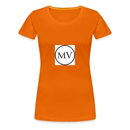 MV MrVlogs LOGO - Women's Premium T-Shirt