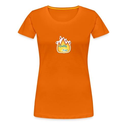 Gabby710 Flame Merch - Women's Premium T-Shirt