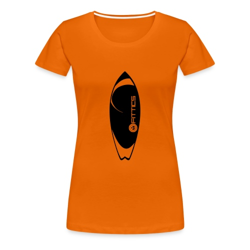 surf board fittics - Women's Premium T-Shirt