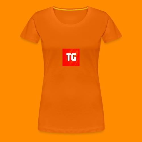 T-Shirt Vrouwen met logo - Vrouwen Premium T-shirt