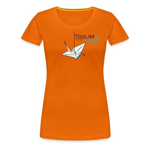 Traumstoff Logo - Frauen Premium T-Shirt