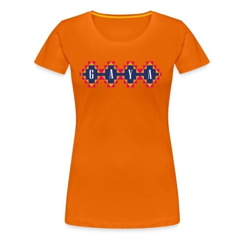 GAYA Logo - Frauen Premium T-Shirt