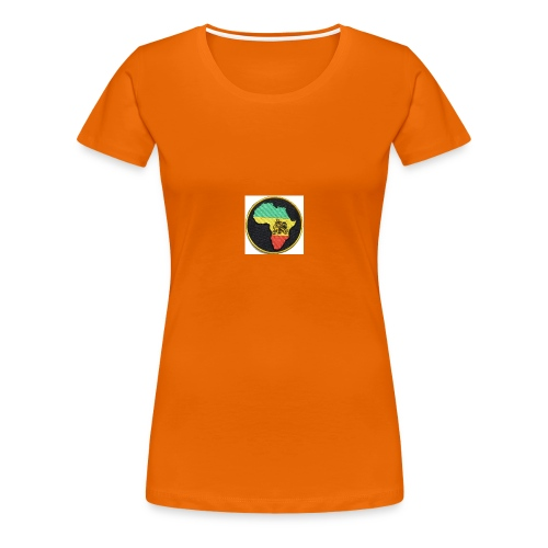 Rasta Lion - Premium-T-shirt dam